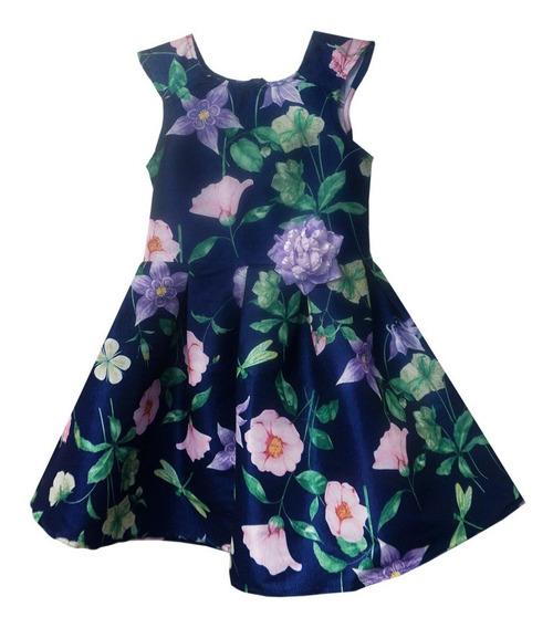 Vestido De Flores Estampado (35781)