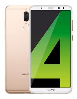 Huawei Mate 10 Lite 64gb Ram 4gb Libre De Fabrica - Dorado