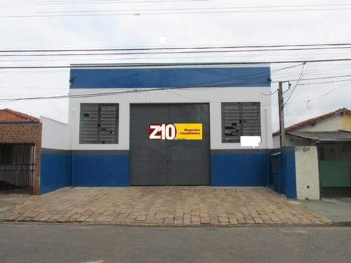 Imagem 1 de 3 de Z10 Imóveis - Gl00319 - Excelente Galpão Com Edícula - Vila Brizola -  Indaiatuba - Gl00319 - 3439809