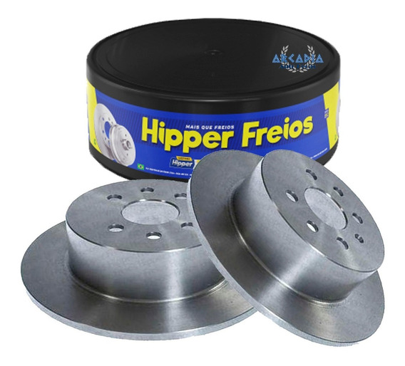 Par Disco Freio Traseiro 2.0 2.2 8v Vectra 97 A 2011 4 Furos