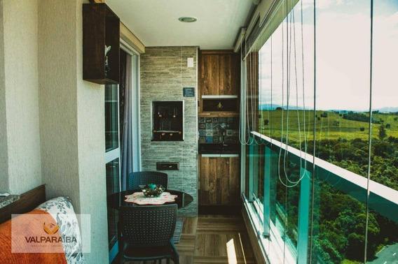 Apartamento Com 3 Dormitórios À Venda, 104 M² Por R$ 700.000 - Urbanova - São José Dos Campos/sp - Ap0497