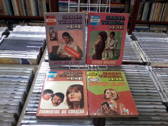 Maria Teresa Sese-4 Volumes Varios Numeros -de Bolso