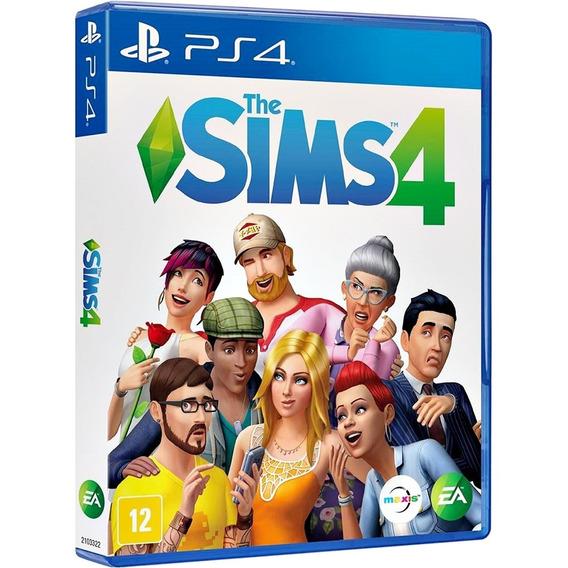 Jogo The Sims 4 Ps4 Midia Fisica Original Lacrado Português