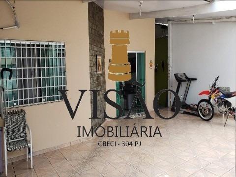 Vendo Uma Linda Casa No Conjunto Rio Maracanã 10 X 25 =250 M² Terreno 160 M² Área Construída 4 Quartos Sendo 2 Suites 1 Banheiro Social Garagem Pra - Ca00785 - 34295337