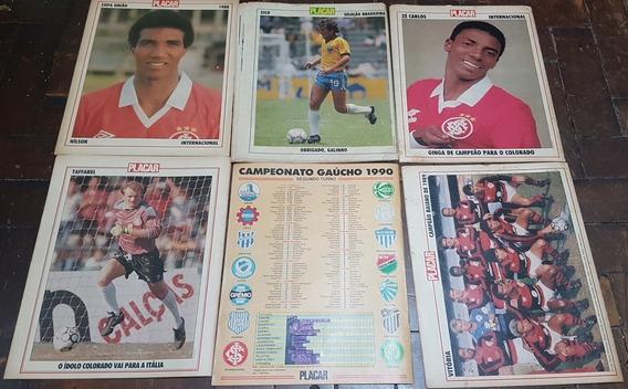 Lote 11 Revista Futebol Placar Anos 80/90 Variadas