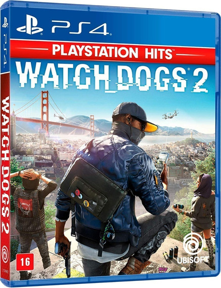 Watch Dogs 2 - Dublado - Midia Fisica Lacrado Original - Ps4