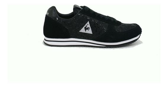 Zapatillas Niñas Le Coq Sportif Bolivar Glam Black