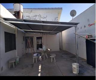 Techo Con Estructura Metalica Para Garage O Quincho En