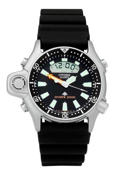 Relógio Citizen Masculino Promaster Aqualand 1985 Jp2000-08e