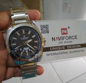 Relógio Masculino Naviforce - Aço Inoxidável