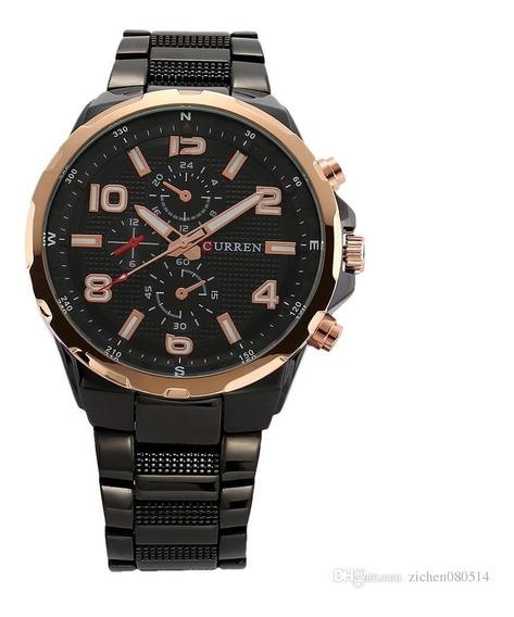 Reloj Moderno Para Hombre Análogo Curren 8276 Con Estuche