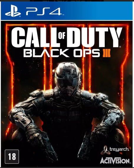 Call Of Duty Black Ops 3 Ps4 Mídia Física Lacrado