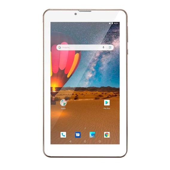 Tablet Multilaser M7 3g Plus Tela 7 1gb 16gb Dourado Nb306