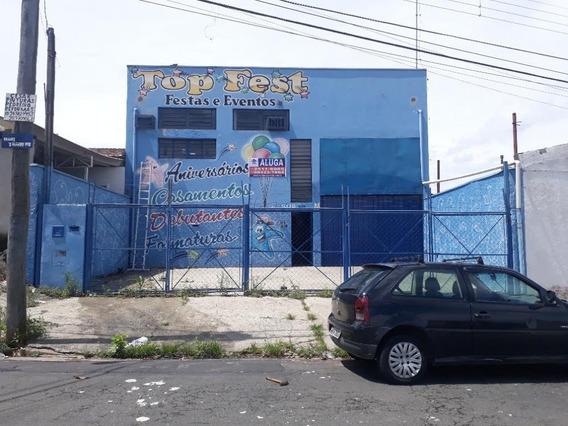 Barracão Para Alugar, 437 M² Por R$ 4.500/mês - Jardim Novo Campos Elíseos - Campinas/sp - Ba0222