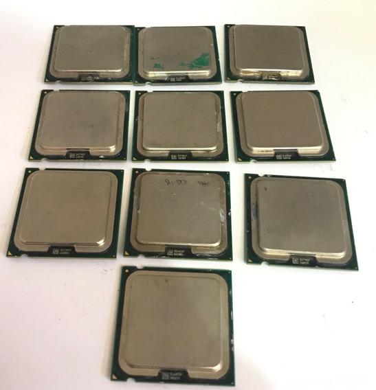 Processadores Core 2 Duo Intel E4300 - (lote 10 Unidades)