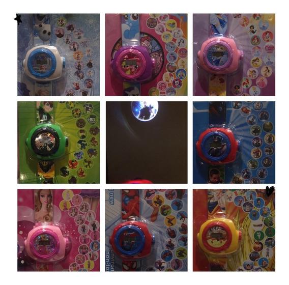 Relógio Brinquedo Infantil Projetor Imagem