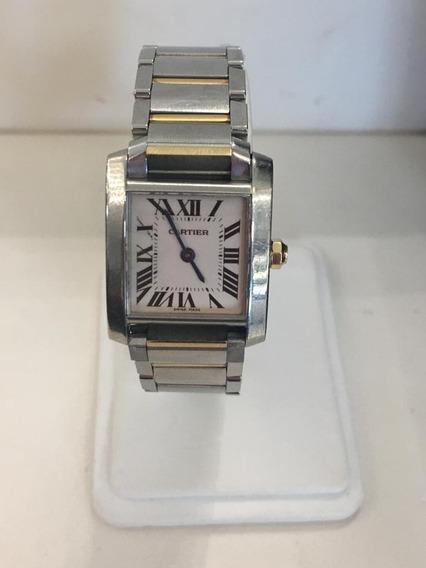 Reloj Cartier Ref 2384 Modelo Tank Francés Tamaño 20mm