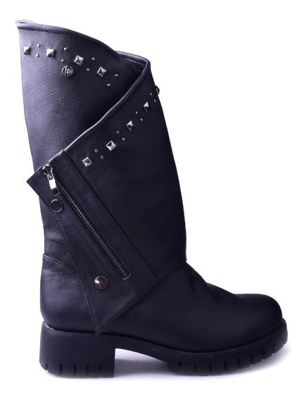 Bota Mujer Caña Alta Lena Massimo Chiesa - Enzo Shoes