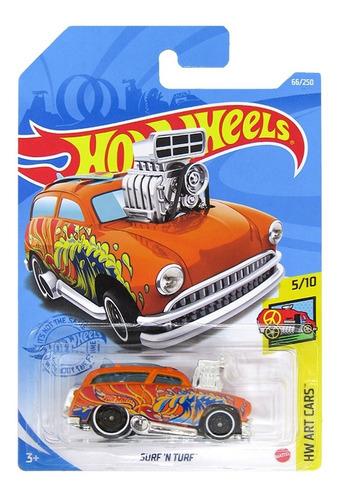 Carrinho Hot Wheels À Escolha - Edição Hw Art Cars - Mattel