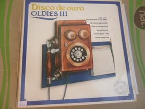 Disco Vinil Lp Disco De Ouro Oldies Lll N0671