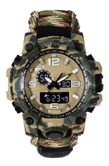 Relógio Sobrevivência Aprova Dagua Bulsula Camping G Shock