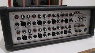 Consola Potenciada Skp Combo 4 + Microfono Karaoque
