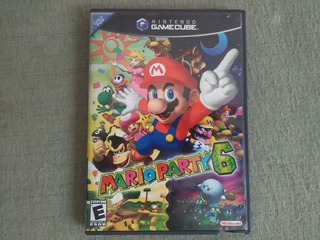 Solo Caja Mario Party 6 Gamecube