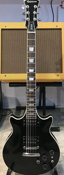 Guitarra EpiPhone Les Paul Genesis Deluxe Black Usada Taiwan
