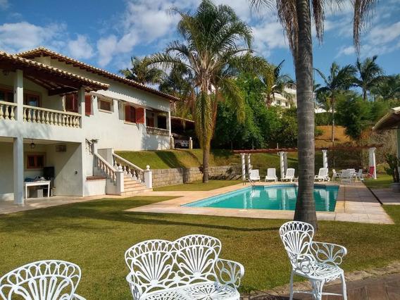 Casa Em Condomínio Para Venda Em Bragança Paulista, Jardim Das Palmeiras, 5 Dormitórios, 1 Suíte, 6 Banheiros, 4 Vagas - 3764_2-1070099