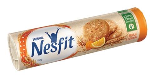 Biscoito Laranja E Cenoura Nesfit 160g