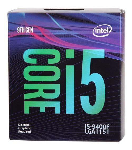 Processador Intel Core I5-9400f 6 Núcleos S/juros