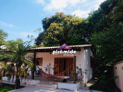 Casa Com 2 Dormitórios À Venda, 90 M² Por R$ 340.000,00 - Massaguaçu - Caraguatatuba/sp - Ca6070