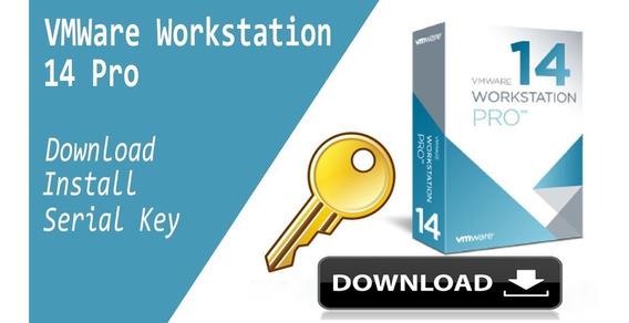 Vmware Workstation 14 + Vitalicio Key