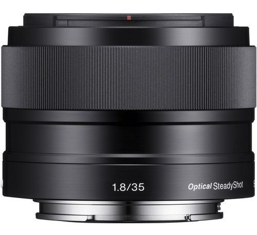 Lente Sony E 35mm F/1.8 Oss (sel35f18) Garantia Novo