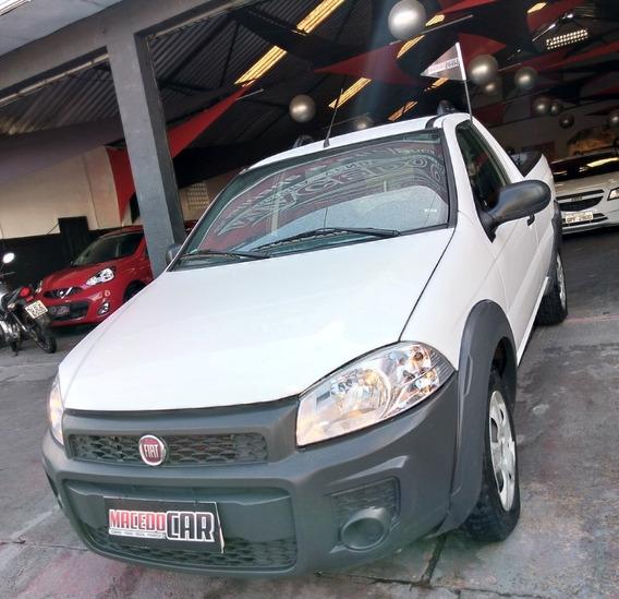 Fiat Strada 1.4 Hard Working Flex 2p 2018 Branco
