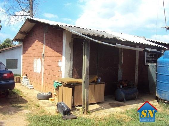 Galpão E Casas Terreno Plano 2.900m2 - 1855
