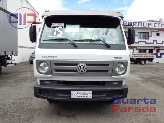 Volkswagen Vw 10160 Vuc Carroceria Madeira 2015 Ar Cond