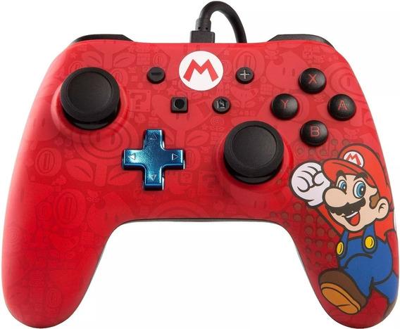 Controle Para Nintendo Switch Super Mario