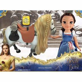 Disney Beauty And The Beast Princess Belle E Philippe Horse