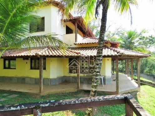 Sítio Com 4 Dormitórios À Venda, 11240 M² Por R$ 850.000 - Inoã (inoã) - Maricá/rj - Si0005