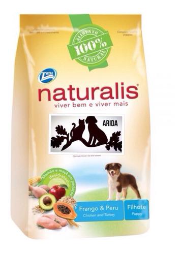 Naturalis Cachorros 15kg + Snacks + Envío $1.630