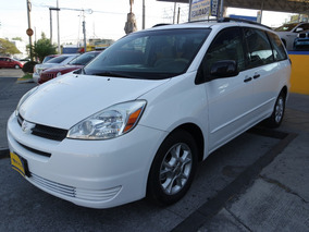 2005 Toyota Sienna Le 6 Cilindros 3.3 Lts. Color Blanco