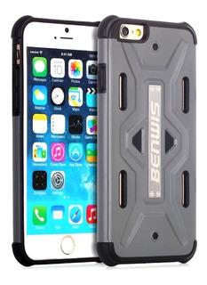 Funda Benwis Armor Híbrida iPhone 6 Y 6s Case Antigolpes