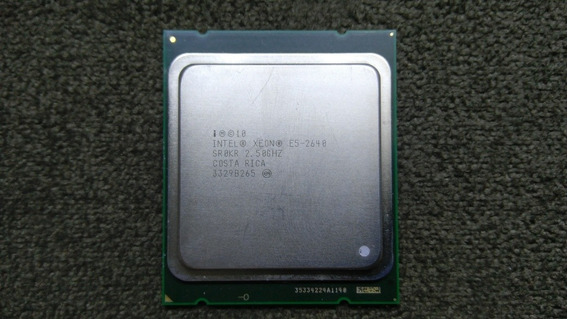 Xeon E5 2640 6 Cores 12 Threads
