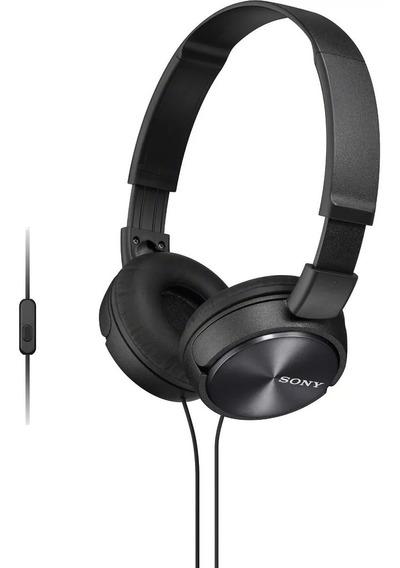 Fone De Ouvido Sony Auricular C/microfone Mdrzx310 Todas Cor