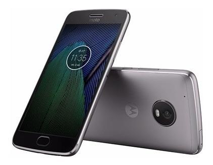 Imagem 1 de 8 de Smartphone Moto G5 Plus Xt1683 Original, Garantia Sem Juros