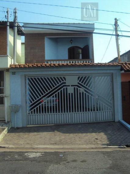 Sobrado Residencial À Venda, Vila Alto De Santo André, Santo André. - So0120