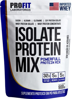 Whey Protein Isolado Isolate Mix Refil 900g