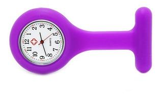 Relógio Enfermagem Enfermeiro Bolso Silicone