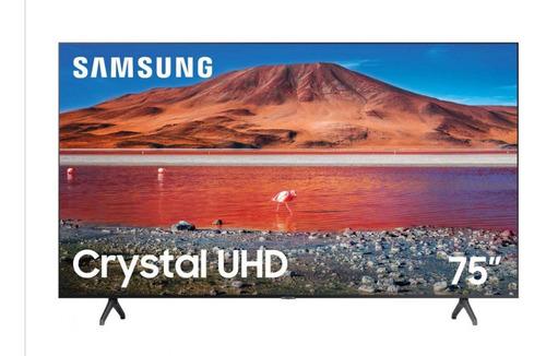 Imagen 1 de 1 de Pantalla75  Samsung Smarttv Uhd Crystal Display Nueva